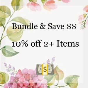 Other - Bundle & Save 10% Off 2+ Items!